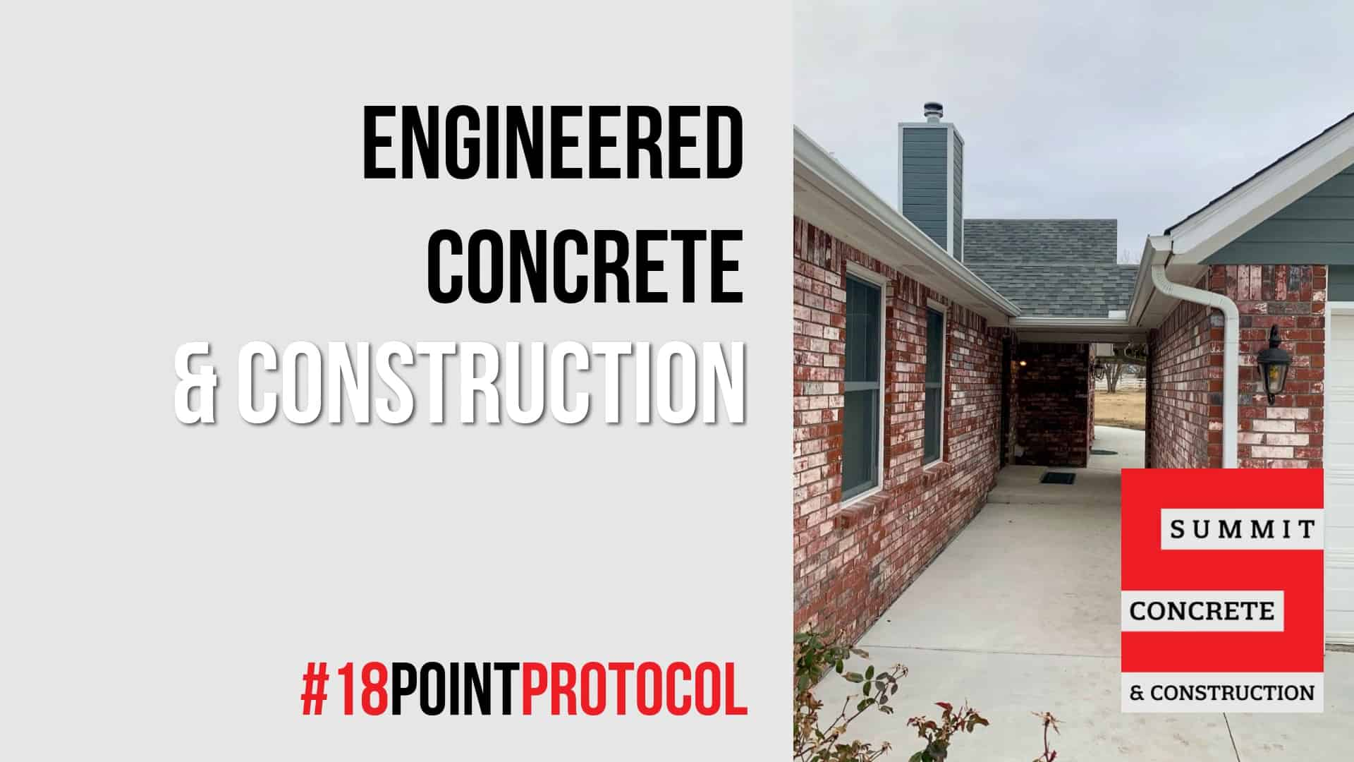 Oklahoma Concrete Project Progress Highlights from January 2021