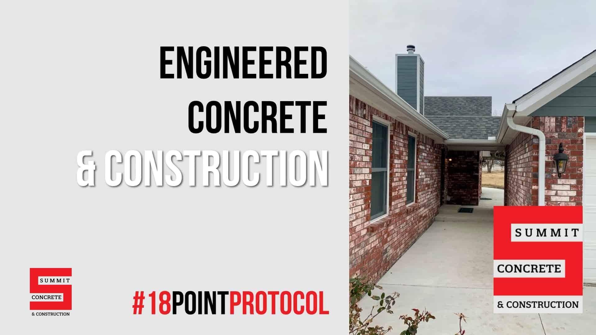 Oklahoma Concrete Project Progress Highlights from January 2021