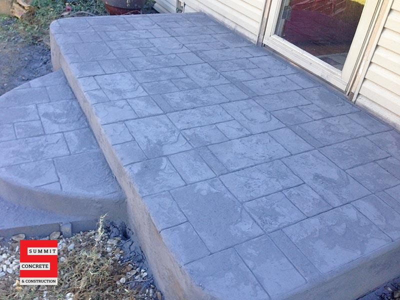 Colored Stamped Summit Concrete 03