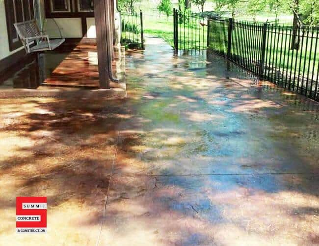 Colored Stamped Summit Concrete 05