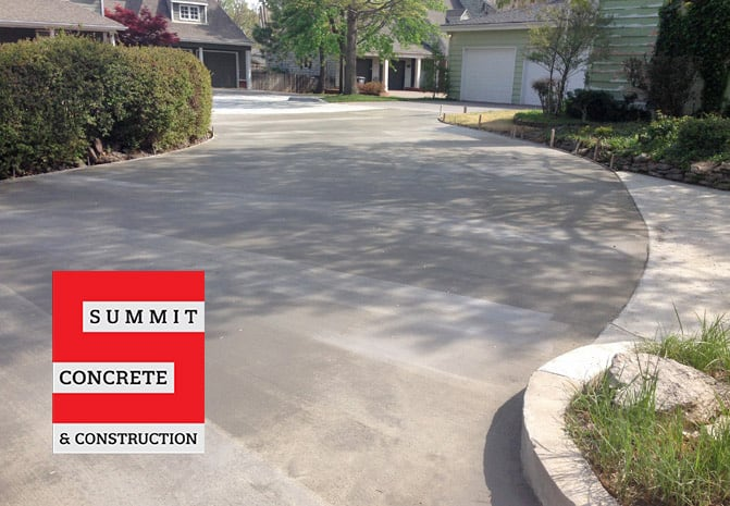 Driveways Summit Concrete 27
