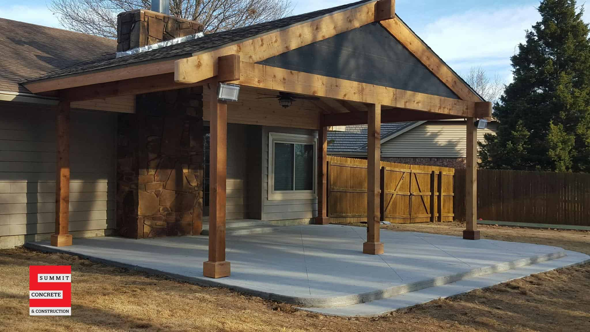 Outdoor Construction Pergolas Summit Concrete 03