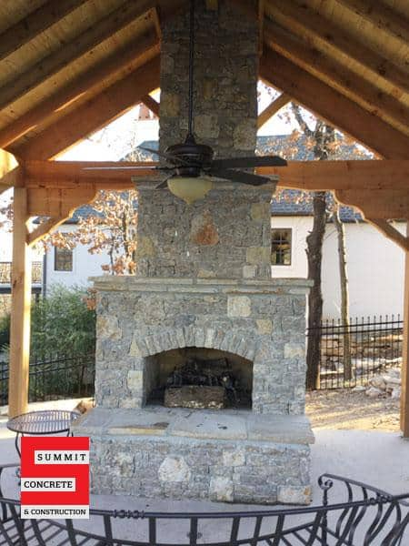 Outdoor Construction Pergolas Summit Concrete 21