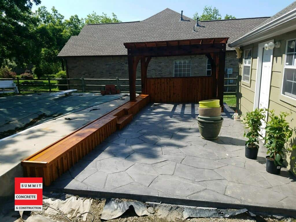 Outdoor Construction Pergolas Summit Concrete 26