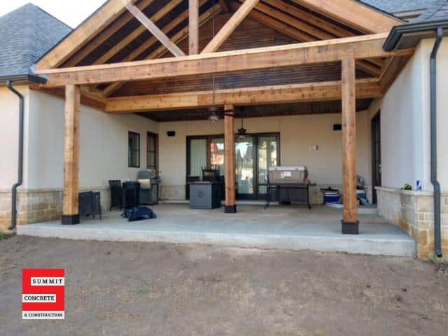 Outdoor Construction Pergolas Summit Concrete 27