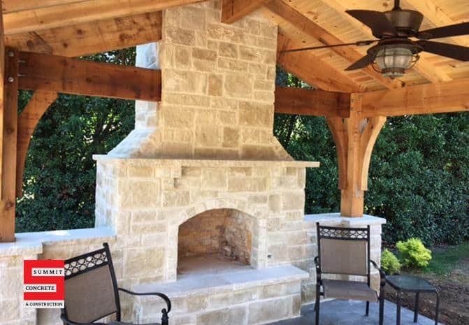 Outdoor Construction Pergolas Summit Concrete 34