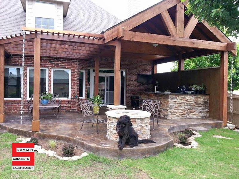Outdoor Kitchens Summit Concrete 04