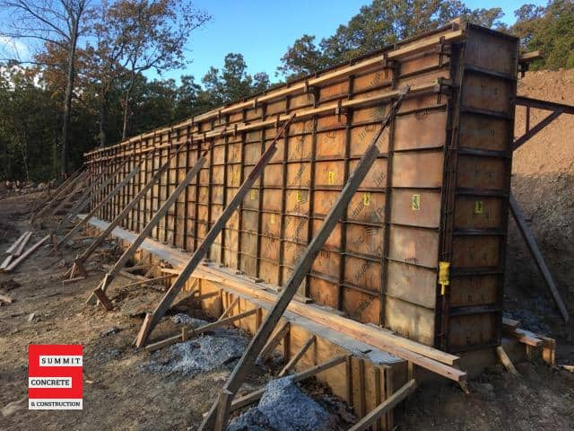 Retaining Walls Summit Concrete 02
