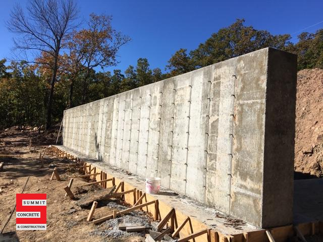 Retaining Walls Summit Concrete 03